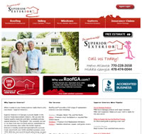 Local Roofing Contractor Website by Beanslive
